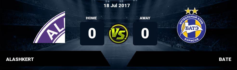 Prediksi ALASHKERT vs BATE 18 Jul 2017