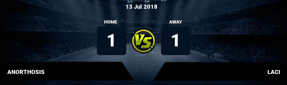 Prediksi ANORTHOSIS vs LACI 13 Jul 2018