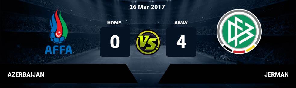 Prediksi AZERBAIJAN vs JERMAN 26 Mar 2017
