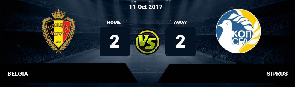 Prediksi BELGIA vs SIPRUS 11 Oct 2017