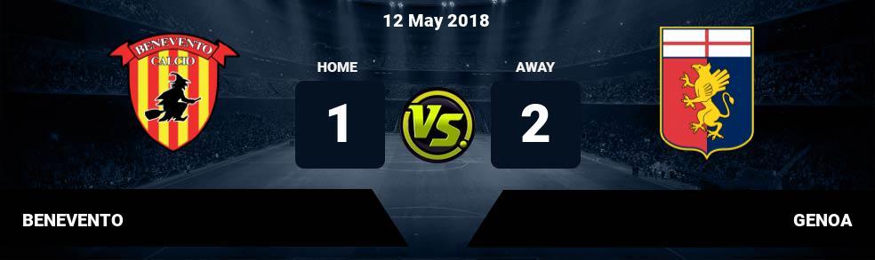 Prediksi BENEVENTO vs GENOA 12 May 2018