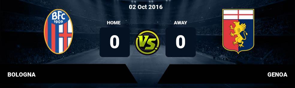 Prediksi BOLOGNA vs GENOA 10 Feb 2019