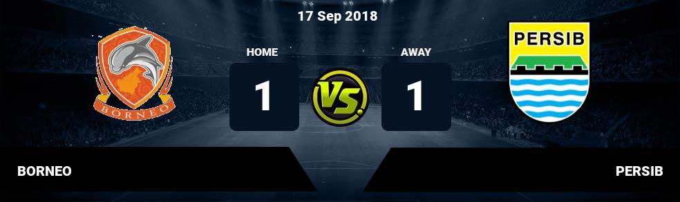 Prediksi BORNEO vs PERSIB 17 Sep 2018