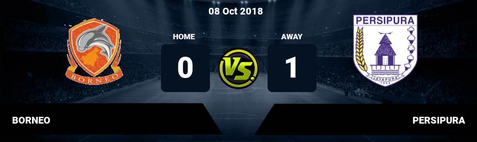 Prediksi BORNEO vs PERSIPURA 30 Sep 2018