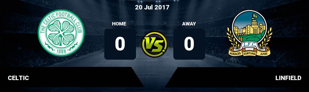Prediksi CELTIC vs LINFIELD 20 Jul 2017