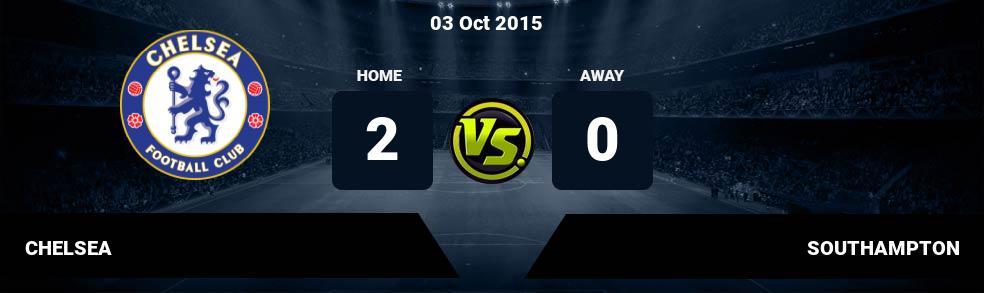 Prediksi CHELSEA vs SOUTHAMPTON 03 Jan 2019