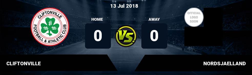 Prediksi CLIFTONVILLE vs NORDSJAELLAND 13 Jul 2018