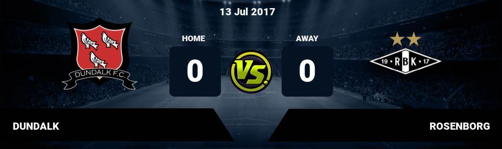 Prediksi DUNDALK vs ROSENBORG 13 Jul 2017