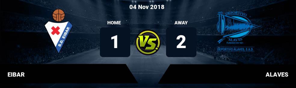 Prediksi EIBAR vs ALAVES 04 Nov 2018
