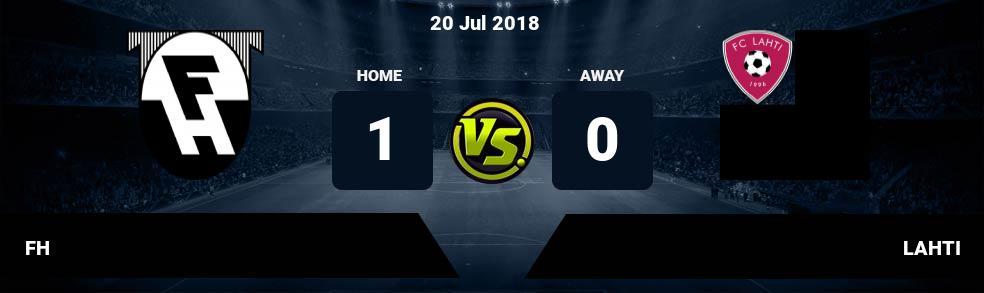 Prediksi FH vs LAHTI 20 Jul 2018