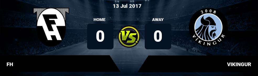 Prediksi FH vs VIKINGUR 13 Jul 2017