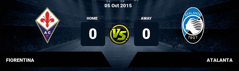 Prediksi FIORENTINA vs ATALANTA 25 Sep 2017