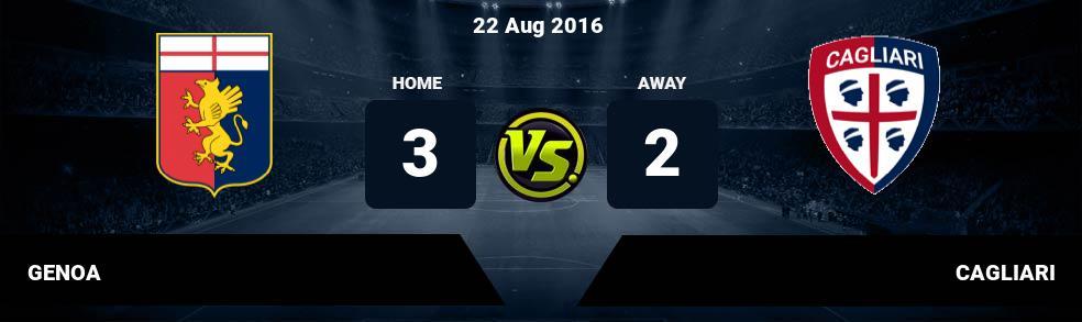 Prediksi GENOA vs CAGLIARI 03 Apr 2018
