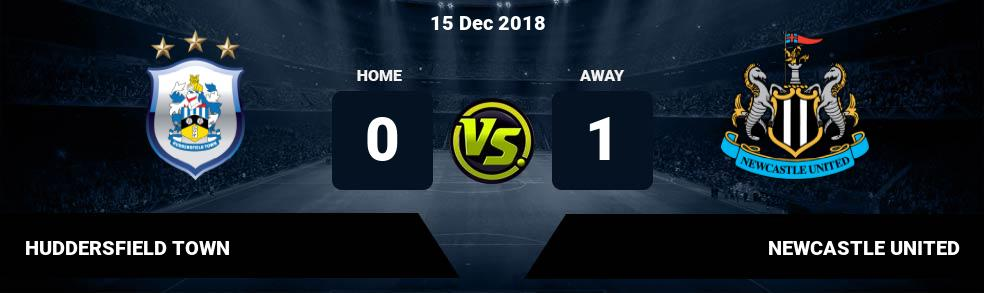 Prediksi HUDDERSFIELD TOWN vs NEWCASTLE UNITED 15 Dec 2018