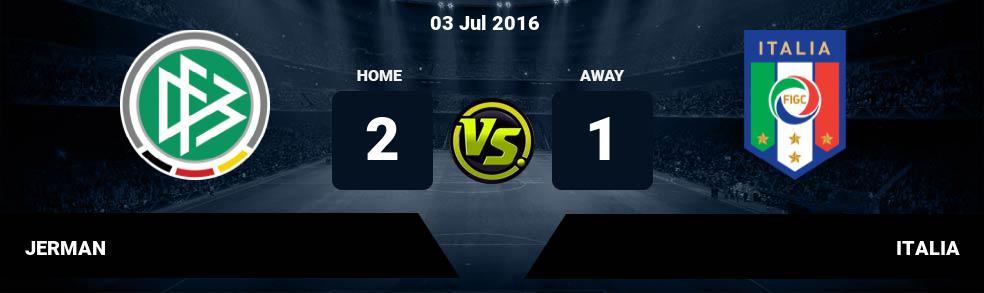 Prediksi JERMAN vs ITALIA 03 Jul 2016