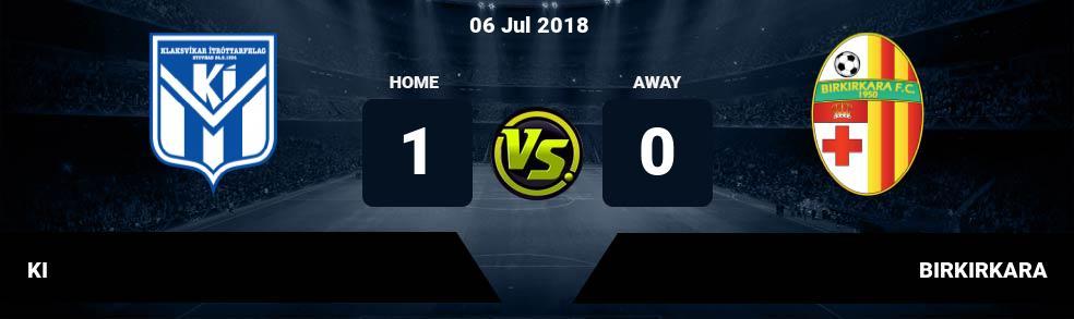 Prediksi KI vs BIRKIRKARA 06 Jul 2018