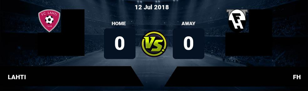 Prediksi LAHTI vs FH 12 Jul 2018