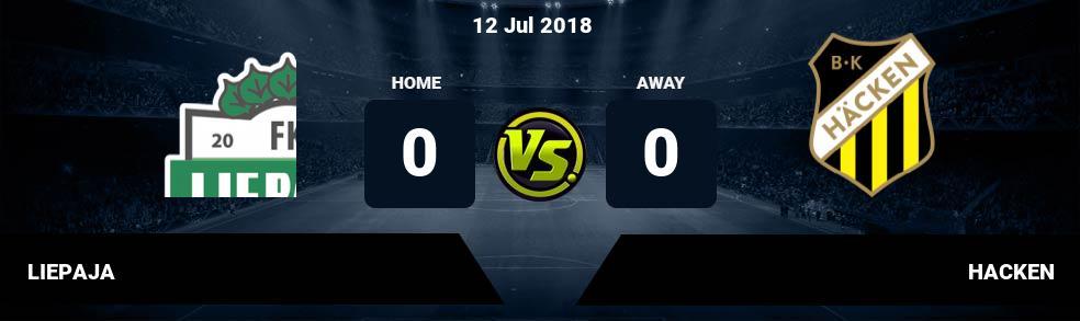 Prediksi LIEPAJA vs HACKEN 12 Jul 2018