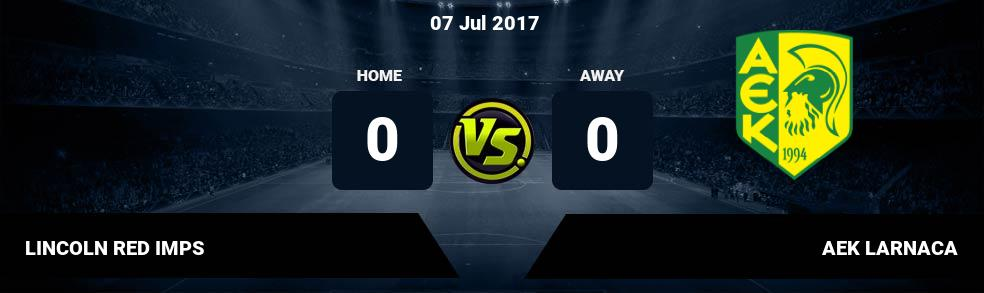 Prediksi LINCOLN RED IMPS vs AEK LARNACA 07 Jul 2017