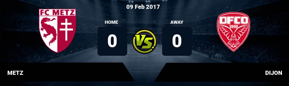 Prediksi METZ vs DIJON 09 Feb 2017