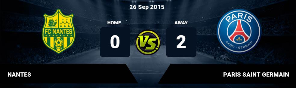 Prediksi NANTES vs PARIS SAINT GERMAIN 21 Jan 2017