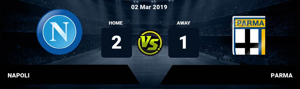 Prediksi NAPOLI vs PARMA 02 Mar 2019