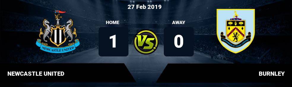 Prediksi NEWCASTLE UNITED vs BURNLEY 27 Feb 2019