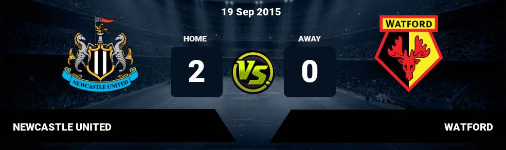 Prediksi NEWCASTLE UNITED vs WATFORD 03 Nov 2018