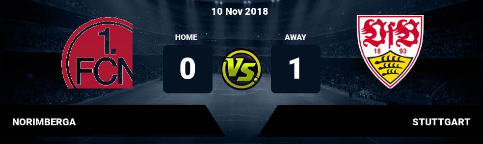 Prediksi NORIMBERGA vs STUTTGART 10 Nov 2018