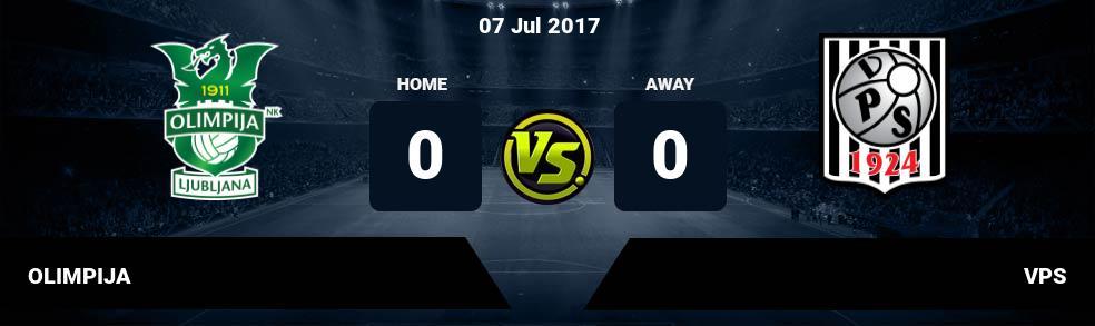 Prediksi OLIMPIJA vs VPS 07 Jul 2017