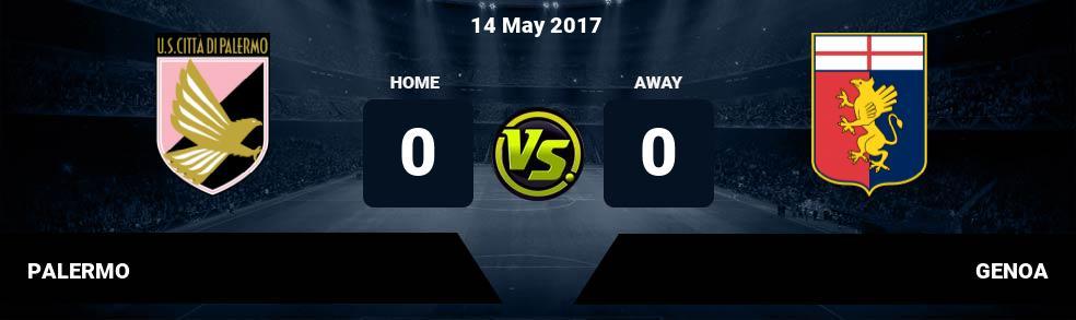 Prediksi PALERMO vs GENOA 14 May 2017