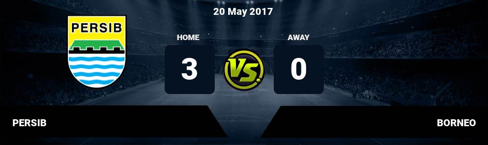 Prediksi PERSIB vs BORNEO 20 May 2017