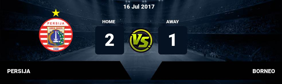 Prediksi PERSIJA vs BORNEO 16 Jul 2017