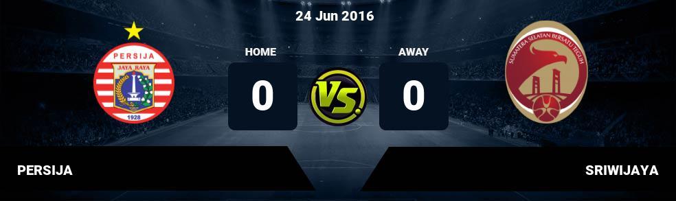 Prediksi PERSIJA vs SRIWIJAYA 24 Nov 2018