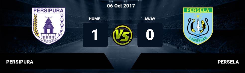 Prediksi PERSIPURA vs PERSELA 06 Oct 2017
