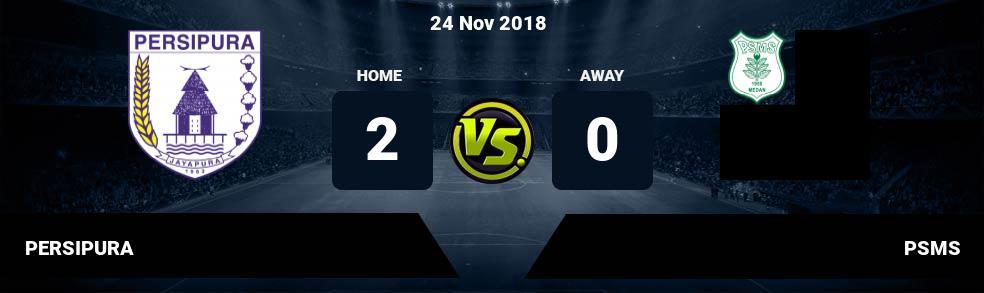 Prediksi PERSIPURA vs PSMS 24 Nov 2018