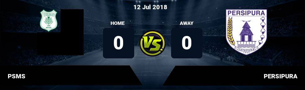 Prediksi PSMS vs PERSIPURA 12 Jul 2018