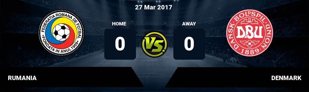 Prediksi RUMANIA vs DENMARK 27 Mar 2017