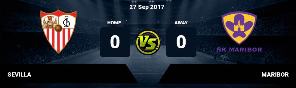 Prediksi SEVILLA vs MARIBOR 27 Sep 2017