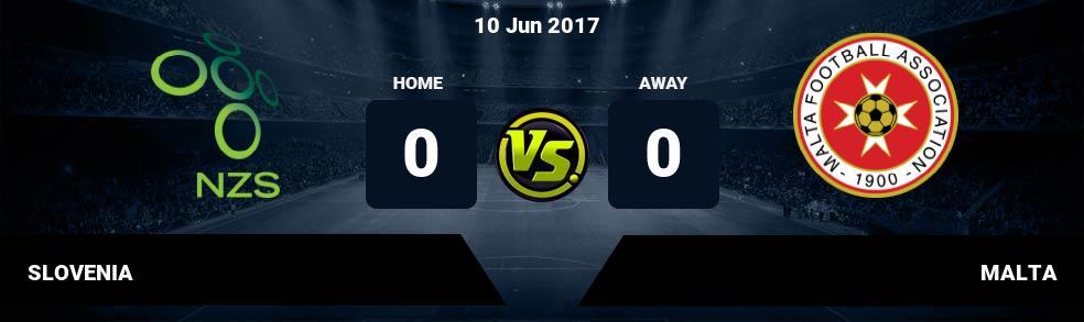 Prediksi SLOVENIA vs MALTA 10 Jun 2017
