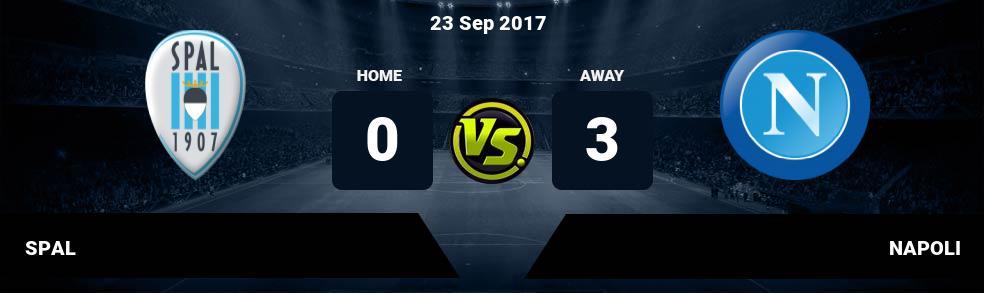Prediksi SPAL vs NAPOLI 23 Sep 2017