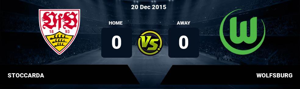 Prediksi STOCCARDA vs WOLFSBURG 16 Sep 2017