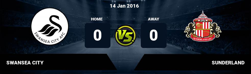 Prediksi SWANSEA CITY vs SUNDERLAND 10 Dec 2016