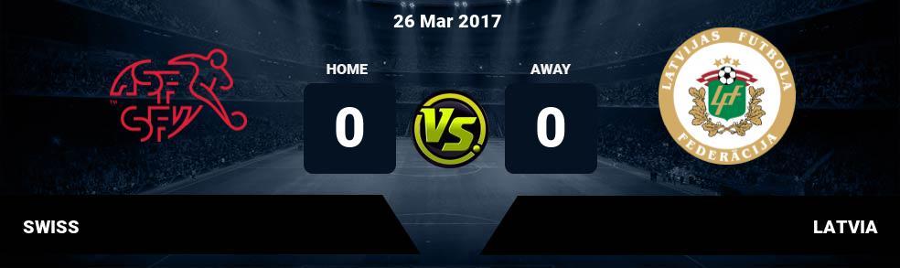 Prediksi SWISS vs LATVIA 26 Mar 2017