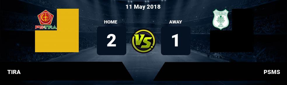 Prediksi TIRA vs PSMS 11 May 2018