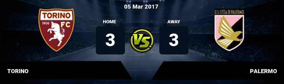 Prediksi TORINO vs PALERMO 05 Mar 2017