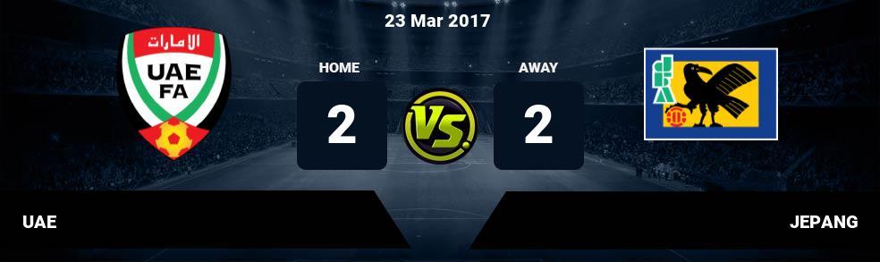 Prediksi UAE vs JEPANG 23 Mar 2017