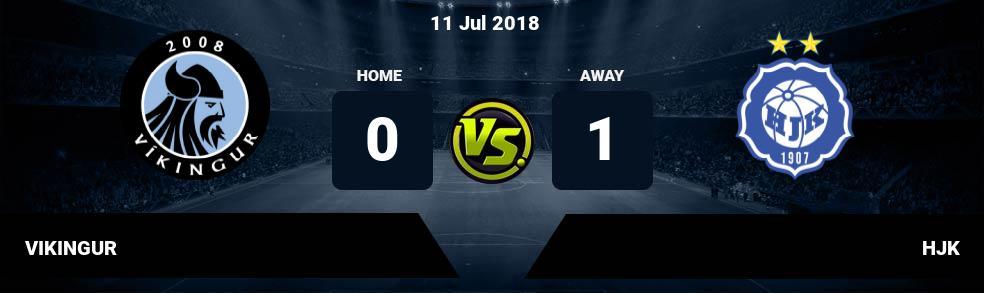 Prediksi VIKINGUR vs HJK 11 Jul 2018