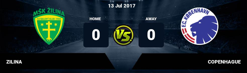 Prediksi ZILINA vs COPENHAGUE 13 Jul 2017