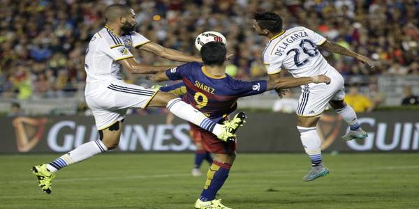 Barcelona Menang 2-1 Melawan LA Galaxy
